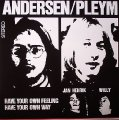 ANDERSON PLEYM GROUP - Have your own feeling have your own way - LP Mayfair Folkrock