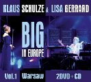 KLAUS SCHULZE & LISA GERRARD - Big in Europe Vol. 1 - Warsaw - 2 DVD + CD MadeIn Elektronik