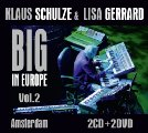 KLAUS SCHULZE & LISA GERRARD - Big In Europe Vol. 2 - Amstedam 2 CD + 2 DVD Mad Elektronik