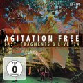 AGITATION FREE - Last  Fragments & Live 74 - 3 CD  DVD MadeInGermany Krautrock Progressiv