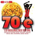 VARIOUS ARTISTS - 70 - e � 128 originalnih hitova  6 CD 2012 Croatia Records Rock Pop