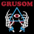 GRUSOM - II - LP (red-blue-marbled ) Kozmik Artifactz Hardrock