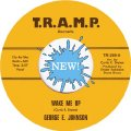 GEORGE E. JOHNSON - Wake Me Up / The Penn Walk - 7 inch Tramp Funk