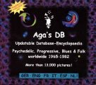 AGAS DB - Data base for psychedelic and progressive AGA Progressiv Krautrock