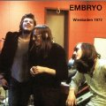 EMBRYO - Wiesbaden 1972 - CD 1972 Krautrock Garden Of Delights Jazzrock