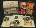 VARIOUS - Atomic Platters - 5 CD  1 DVD-Box & 292-Page-Book Bear Family Psychedelic Krautrock