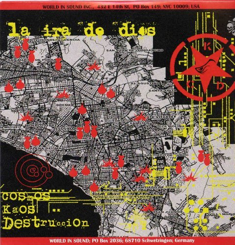 LA IRA DE DIOS - Cosmos....Kaos....Destruccion - CD 2008 World In Sound Psychedelic