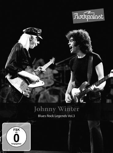 JOHNNY WINTER - Rockpalast - DVD MadeInGermany