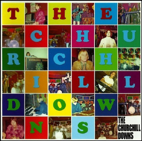 THE CHURCHILL DOWNS - Churchill Downs - LP 1968 Shadoks Psychedelic