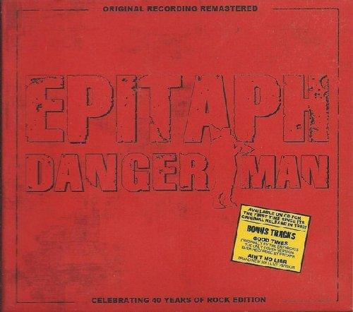 EPITAPH - Danger man - CD 1981 Remastered MadeInGermany Krautrock Progressiv
