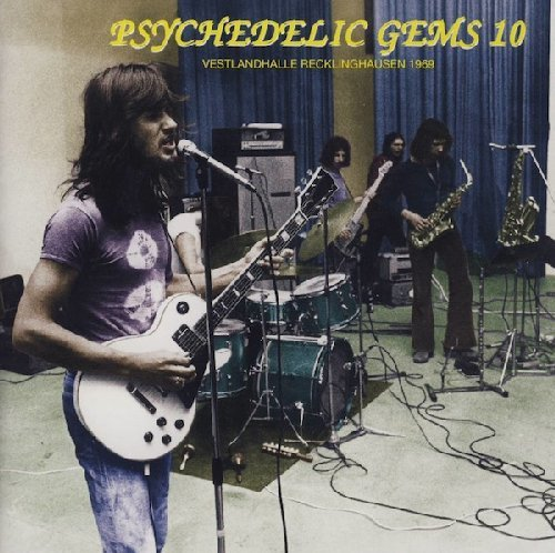 VARIOUS - Psychedelic Gems 10  - CD Krautrock GOD Garden Of Delights Progressiv