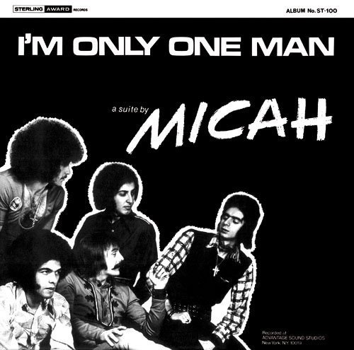 MICAH - Im Only One Man - LP 1971 Shadoks Psychedelic
