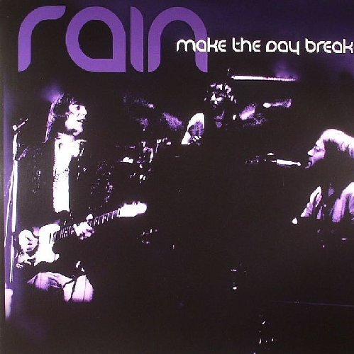 RAIN - Make The Day Break - LP Norway 1974 Shadoks Psychedelic