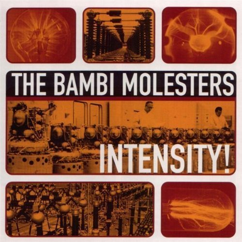 BAMBI MOLESTERS, THE - Intensity! - LP 1998 180 g Dancing Bear Beat