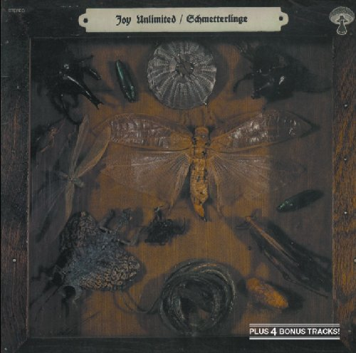 JOY UNLIMITED - Schmetterlinge - CD 1971 Krautrock Garden Of Delights Progressiv