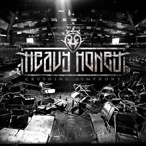 HEAVY HONEY - Crushing Symphony - CD Dust On The Tracks Heavy Metal