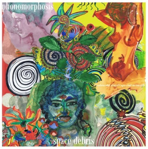 SPACE DEBRIS - Phonomorphosis - 2 LP 2014 (coloured vinyl) Green Brain/Breitklan Krautrock Progressiv