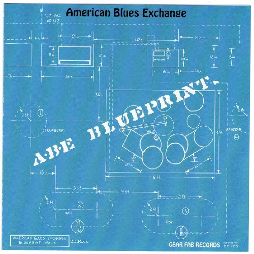 AMERICAN BLUES EXCHANGE - Blueprint - CD 1969 Gear Fab Psychedelic