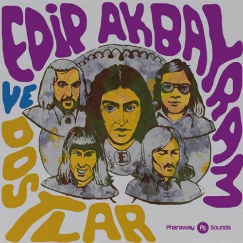 AKBAYRAM, EDIP VE DOSTLAR - Singles Overview 1974 - 1977 - CD PHARAWAY SOUNDS Psychedelic