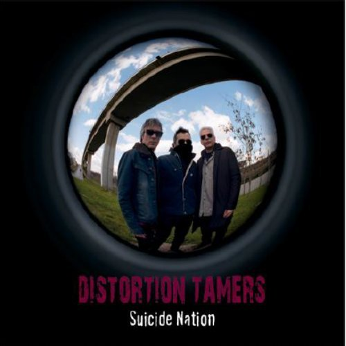DISTORTION TAMERS - Suicide Nation - 7 inch single Anazitisi Psychedelic Underground