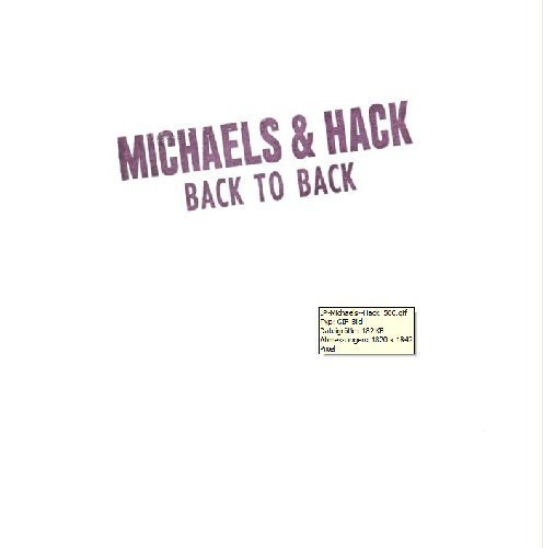 MICHAELS & HACK - Back To Back - LP (colour) Nasoni Psychedelic