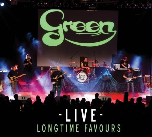GREEN - Green - Live Longtime Favours CD Sireena Rock