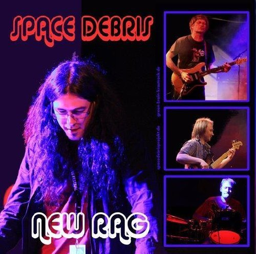 SPACE DEBRIS  PAISLEY TREE - New Rag  Spiral Cage - 7 inch Split single Green Krautrock Progressiv