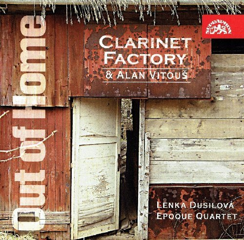 Clarinet Factory & Alan Vitous - Out of Home - CD 2010 Supraphon Jazz