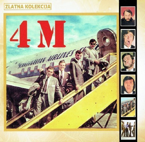 4M - Zlatna Kolekcija - 2 CD 216 Croatia Records Pop