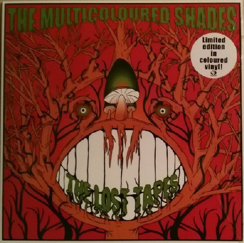 THE MULTICOLOURED SHADES - The Lost Tapes - 10 inch EP Sireena Psychedelic