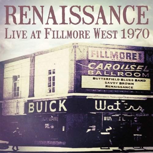 RENAISSANCE - Live At Fillmore 1970 - LP (180 g) Sireena Progressiv