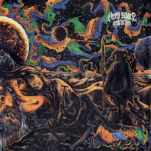 DEEP SPACE DESTRUCTORS - Psychedelogy - LP (black) Space Rock Prod Psychedelic