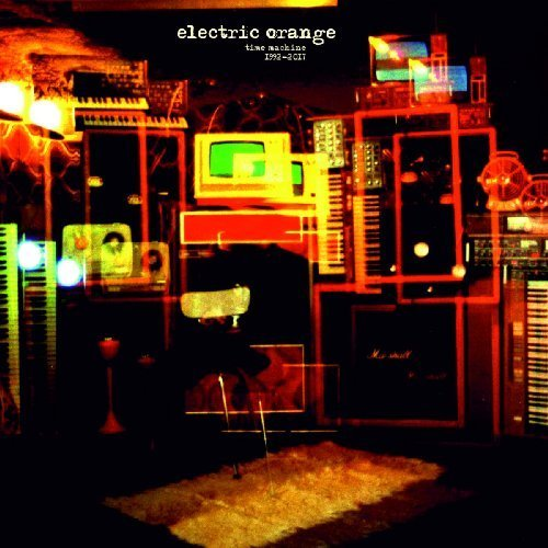 ELECTRIC ORANGE - Time Machine 1992 - 217 2 LP black Sound Effect Psychedelic Krautrock
