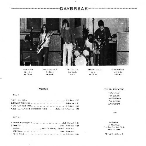 DAYBREAK - Daybreak - CD 1971 Gear Fab Psychedelic Garage