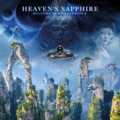 HEAVEN�S SAPPHIRE - Welcome To Wonderworld - LP + Poster MadeInGermany Progressiv
