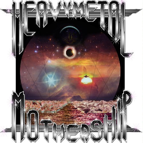 TURN ME ON DEAD MAN - Heavymetal Mothership - LP (colour) Heavy Psych Sounds Psychedelic Heavy Rock
