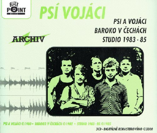 PSI VOJACI - Psi A Vojaci / Baroko V Cechach / Studio 1983 - 85 -3 CD 2000 Black Rock