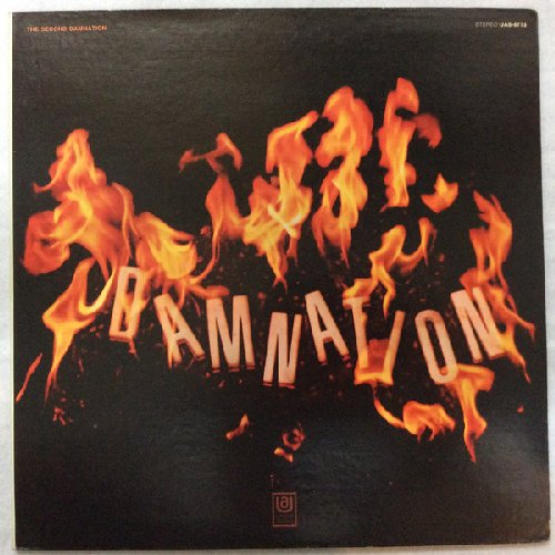 THE DAMNATION OF ADAM BLESSING - The Second Damnation - LP colour Svart Psychedelic