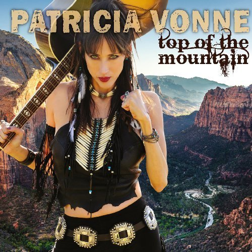 PATRCIA VONNE - Top Of The Mountain - CD MadeInGermany Rock