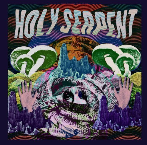 HOLY SERPENT - Holy Serpent - LP black RIDING EASY Psychedelic