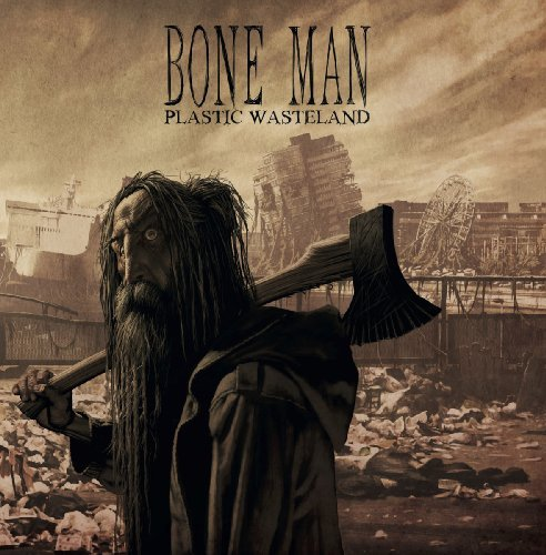 BONE MAN - Plastic Wasteland - LP (brown/bronze splatter) Pink Tank Psychedelic
