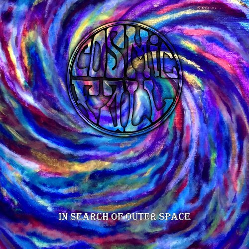 COSMIC FALL - In Search Of Outer Space - LP (colour) + Poster Clostridium Psychedelic Rock