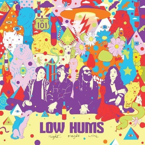 LOW HUMS, THE - Night Magic Wine / Shine Rock - LP (clear) Kozmik Artifactz Psychedelic
