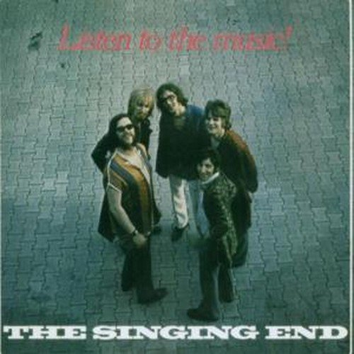 THE SINGING END - Listen To The Music- CD 1971  Bonustracks Longhair Krautrock Psychedelic