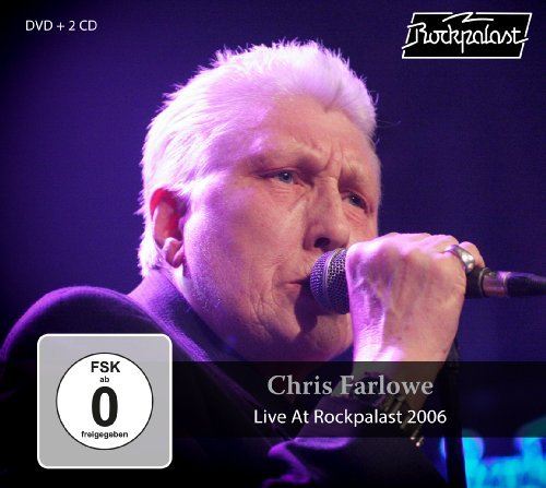 CHRIS FARLOWE - Live At Rockpalast 2006 - 2 CD + DVD MadeInGermany