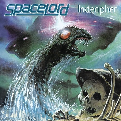 SPACELORD - Indecipher - LP (clear/blue) Kozmik Artifactz Hardrock