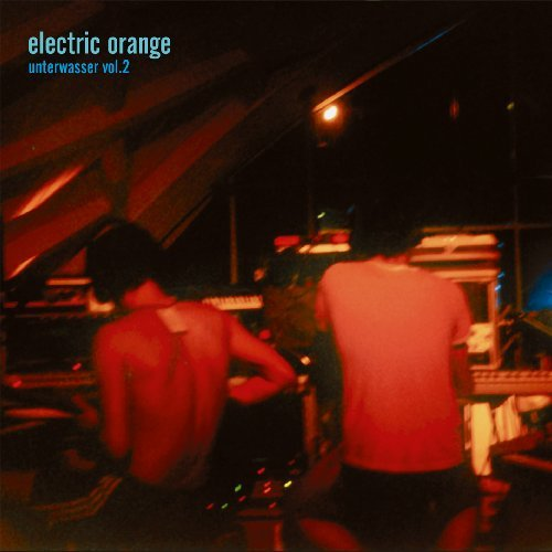 ELECTRIC ORANGE - Unterwasser Vol. 2 - 2 LP redblack marble Adansonia Records Psychedelic Krautrock
