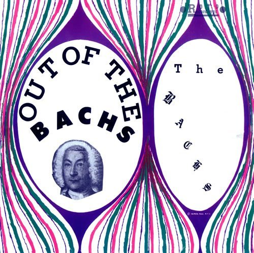 BACHS - Out Of The Bachs - CD 1968 Psychedelic Gear Fab Garage