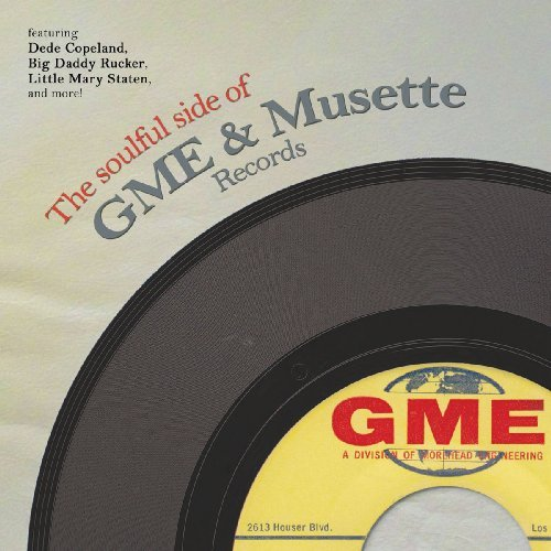 VARIOUS - The Soulful Side Of Gme & Musette Records - LP Tramp
