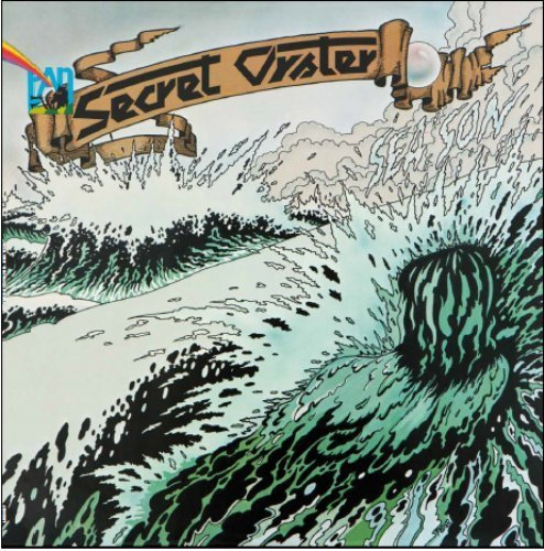SECRET OYSTER - Sea Son - LP Longhair Progressiv Jazzrock